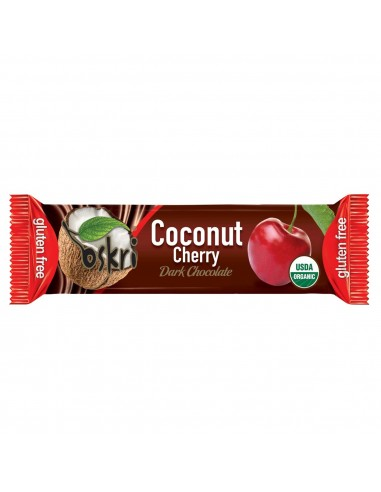 Coconut Bar, Cherry and Black Chocolate