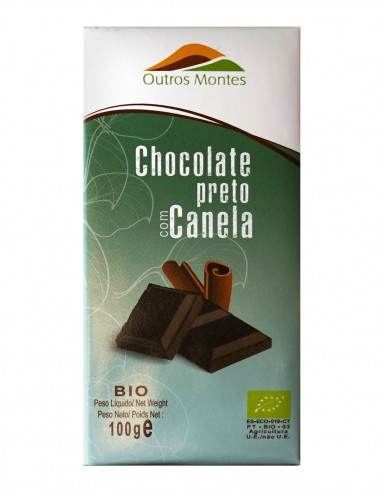 Organic Dark Chocolate with Cinnamon