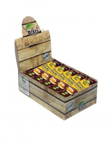 Caixa com 24 Barras Oskri de Amendoim...