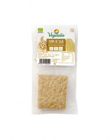 Tempeh de Soja Natural Vegetalia