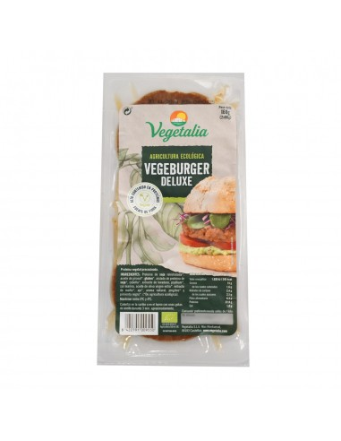Vegan Burger Deluxe Vegetalia