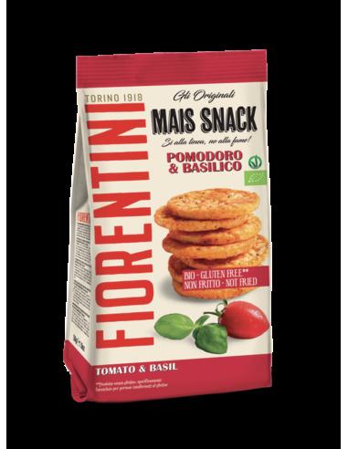 Mini Snacks de Milho, Tomate e...